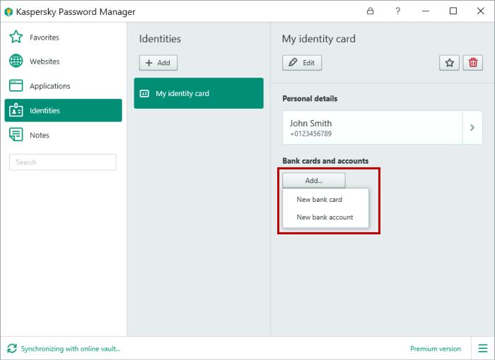 Kaspersky Password Manager latest version
