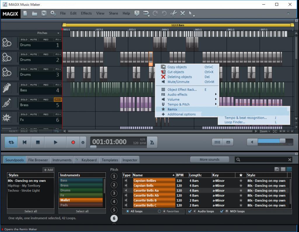 Magix Music Maker windows