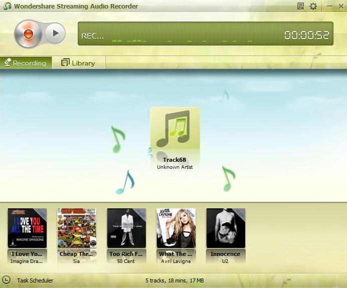 Wondershare Streaming Audio Recorder windows