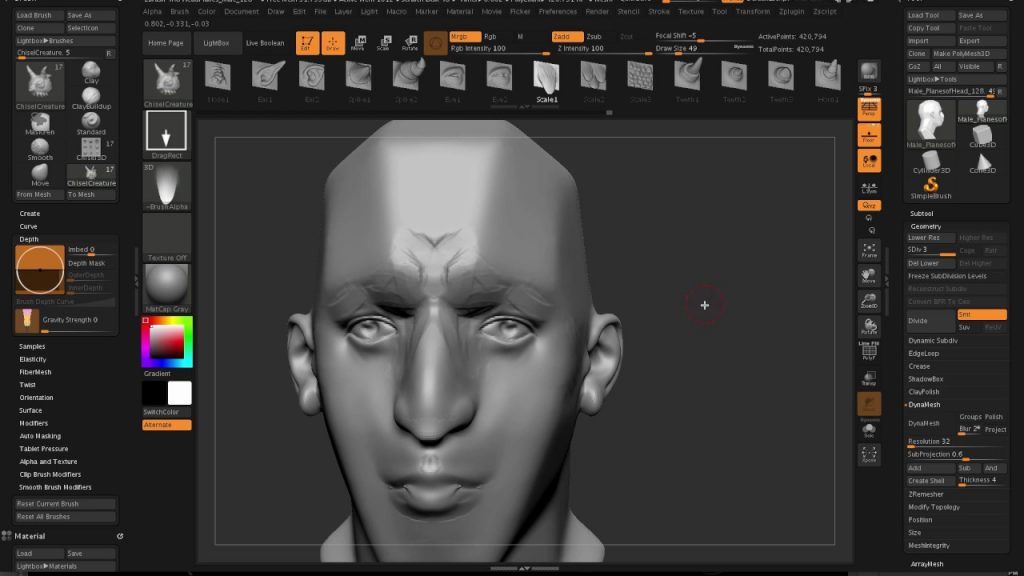 ZBrush 4R8 windows