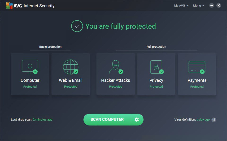 AVG Internet Security latest version