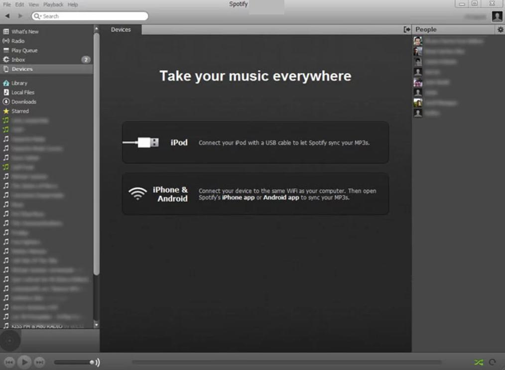 Spotify windows
