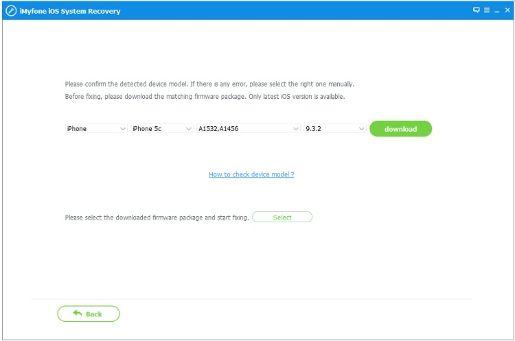 iMyFone iOS System Recovery latest version